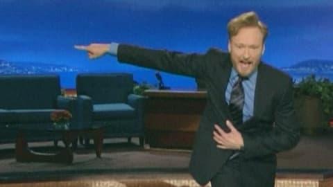 Conan O'Brien uudessa ohjelmassaan.