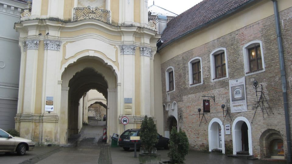 Vanhan kaupungin portti Vilnassa.