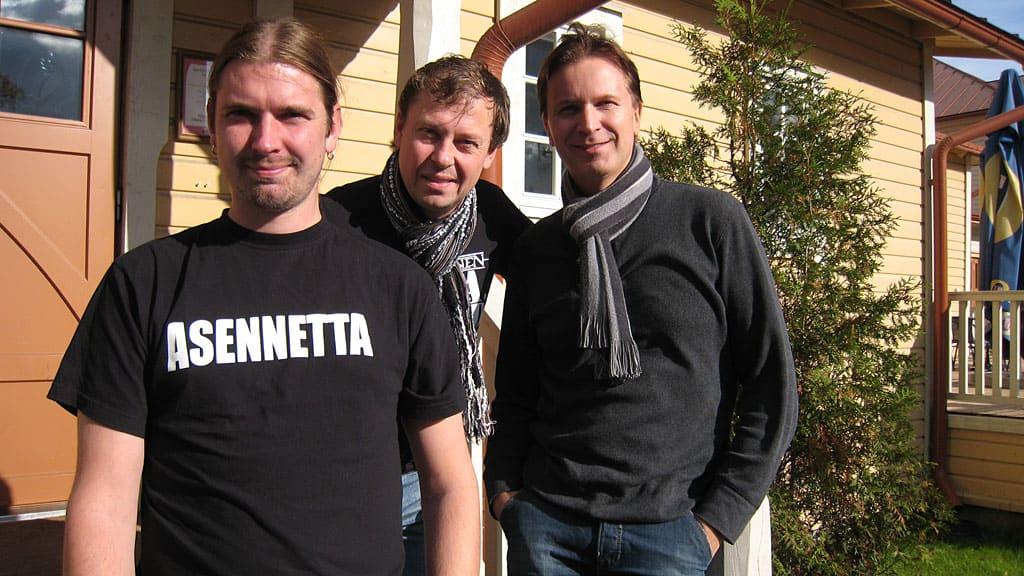 Kristian Meurman, Sami Saari ja Jore Marjaranta Lauluja rakkaudesta kiertueella