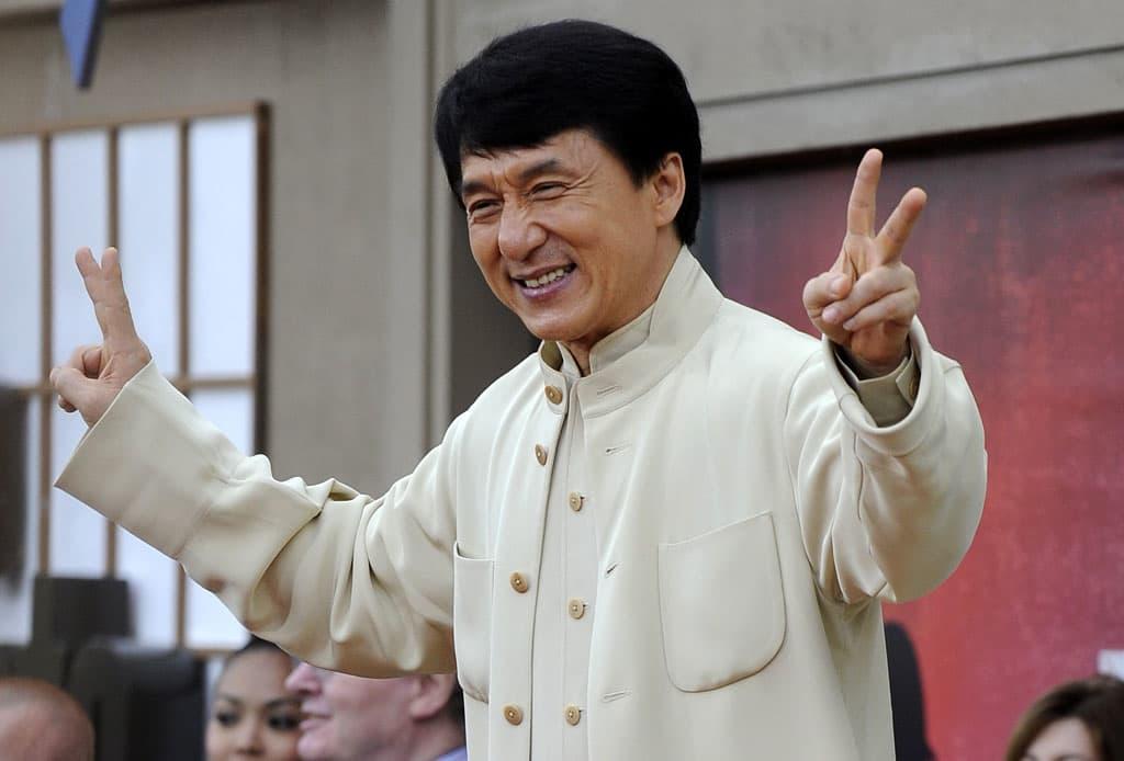Kiinalaisnäyttelijä Jackie Chan 2010.