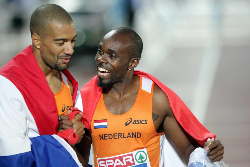 Hollanti juhlii kaksoisvoittoa 200 metrillä.
