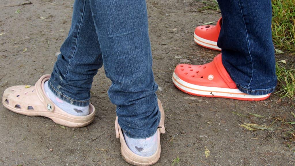 Crocs-kenkiä