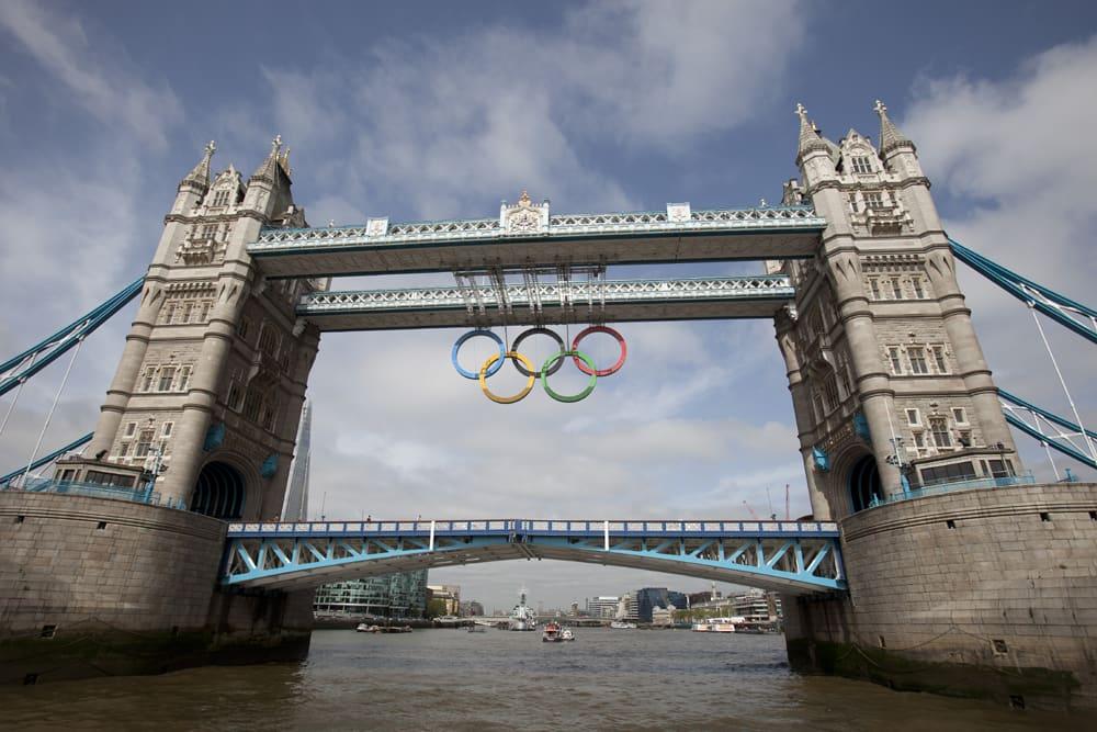 Lontoo olympialaiset olympiarenkaat