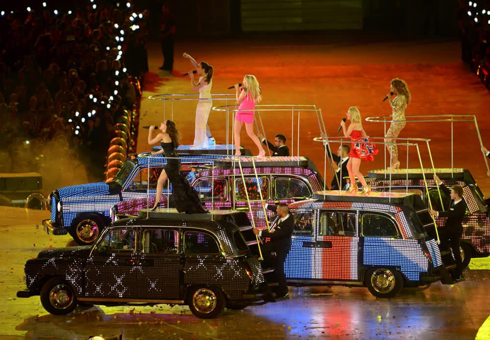 Spice Girls esiintyi todennäköisesti viimeisen kerran yhdessä.