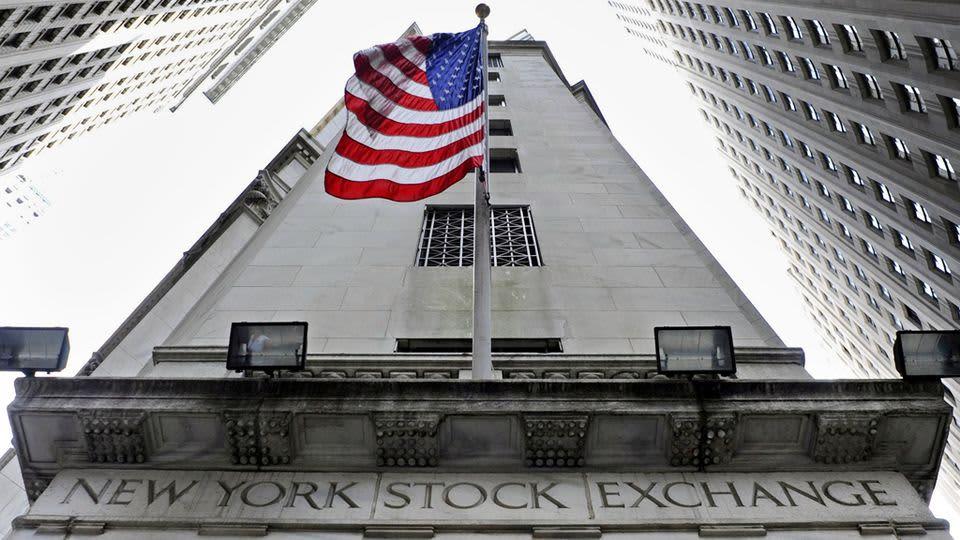 New Yorkin pörssi.