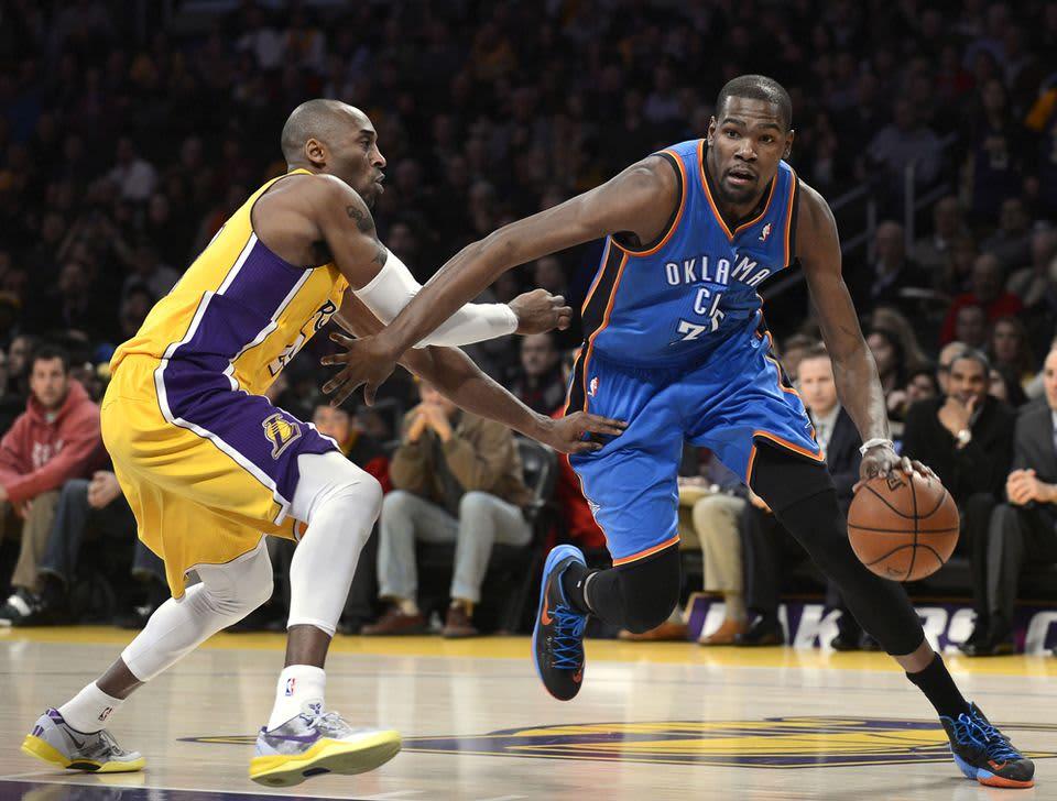 Kevin Durant Kobe Bryant