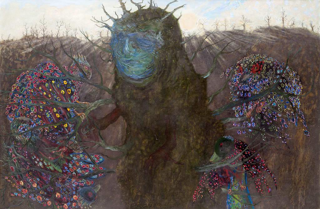 Elina Merenmiehen  Man Tree -teos.