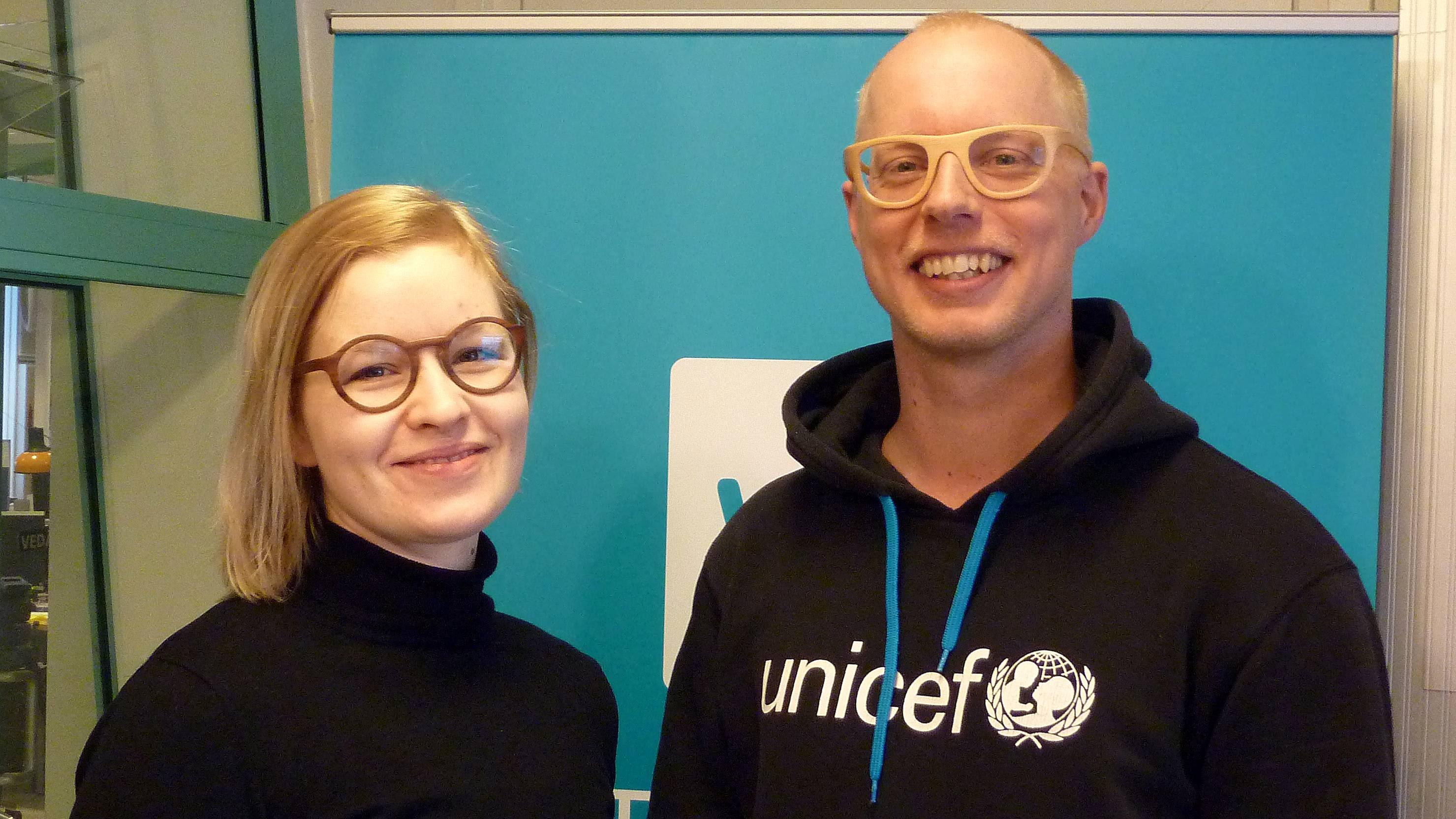 Laura Lehtinen ja Matti Hänninen