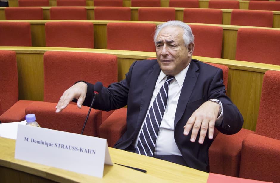 Dominique Strauss-Kahn kesäkuussa 2013.