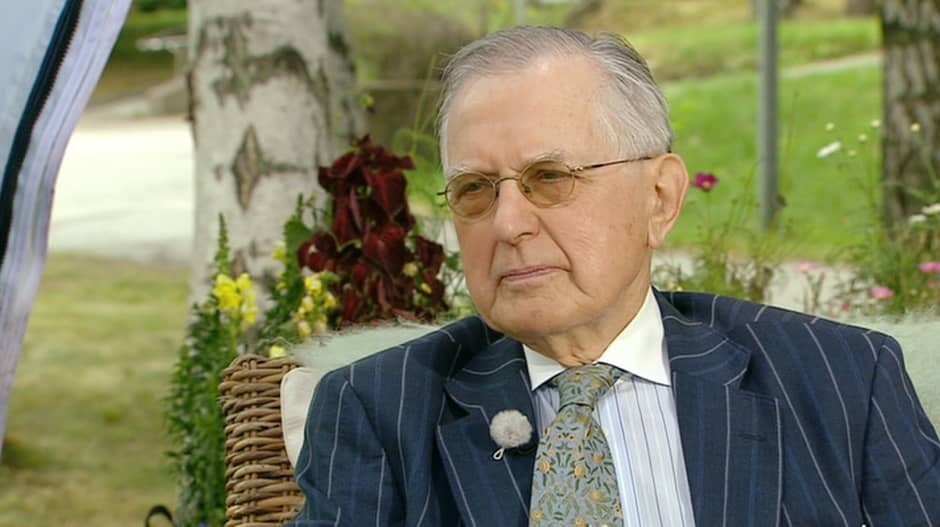 Historian professori Matti Klinge.
