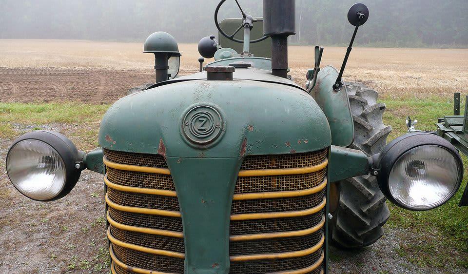 Markku Ojalan vihreä Zetor-traktori