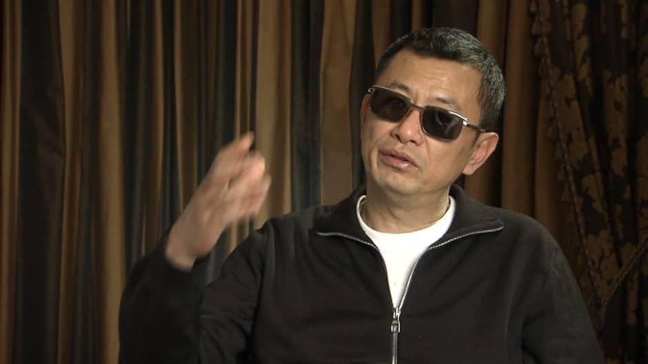 Elokuvaohjaaja Wong Kar-wai.