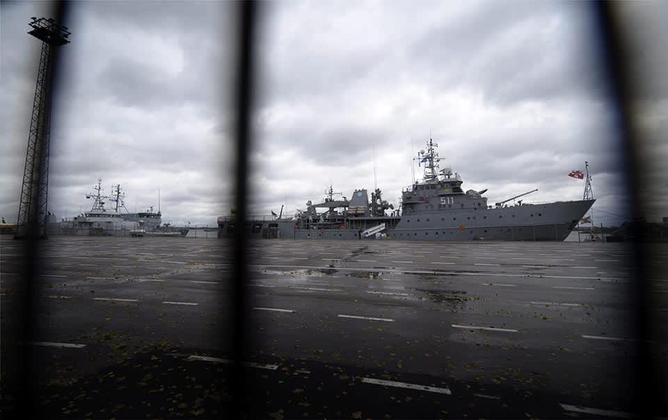Miinantorjunta-aluksia