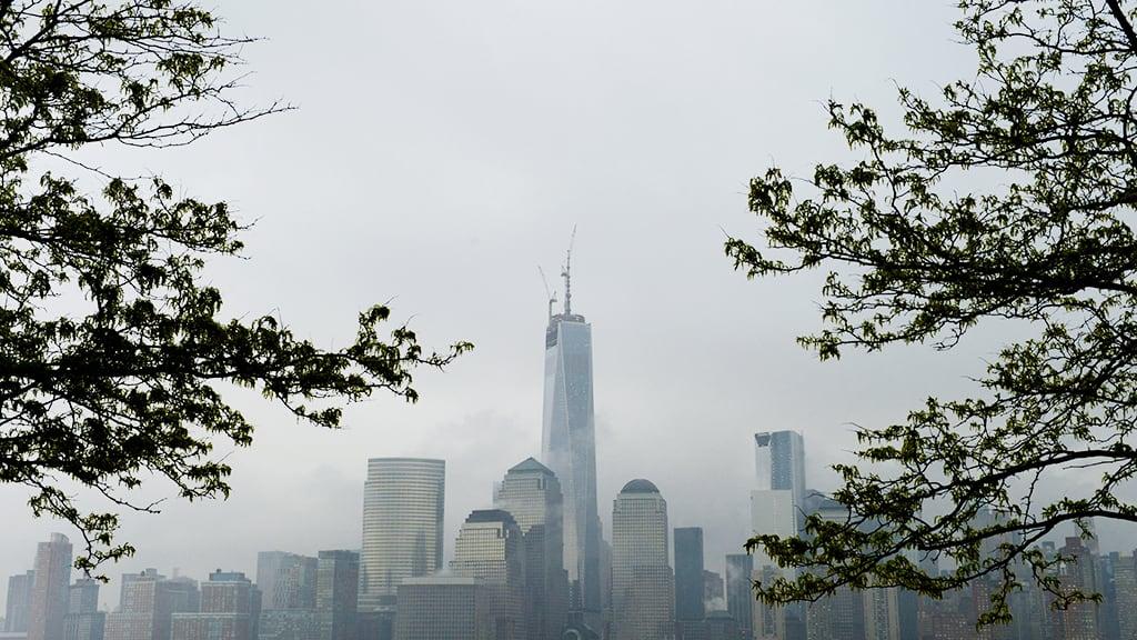 One World Trade Center kuvattuna New Yorkissa toukokuussa 2013.