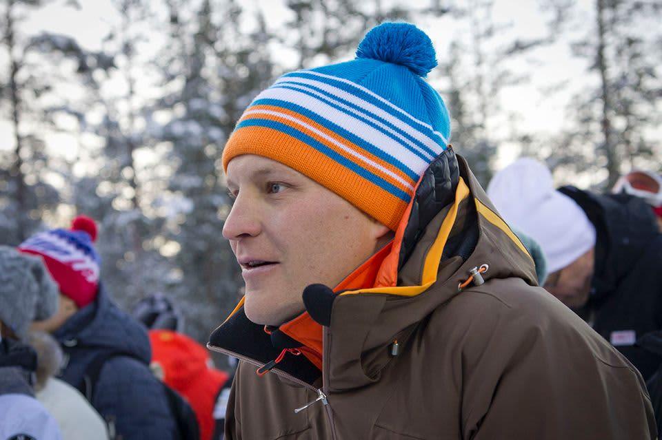 Kalle Palander Alppihiihdon Maailman Cupissa Levillä 16. marraskuuta 2013.
