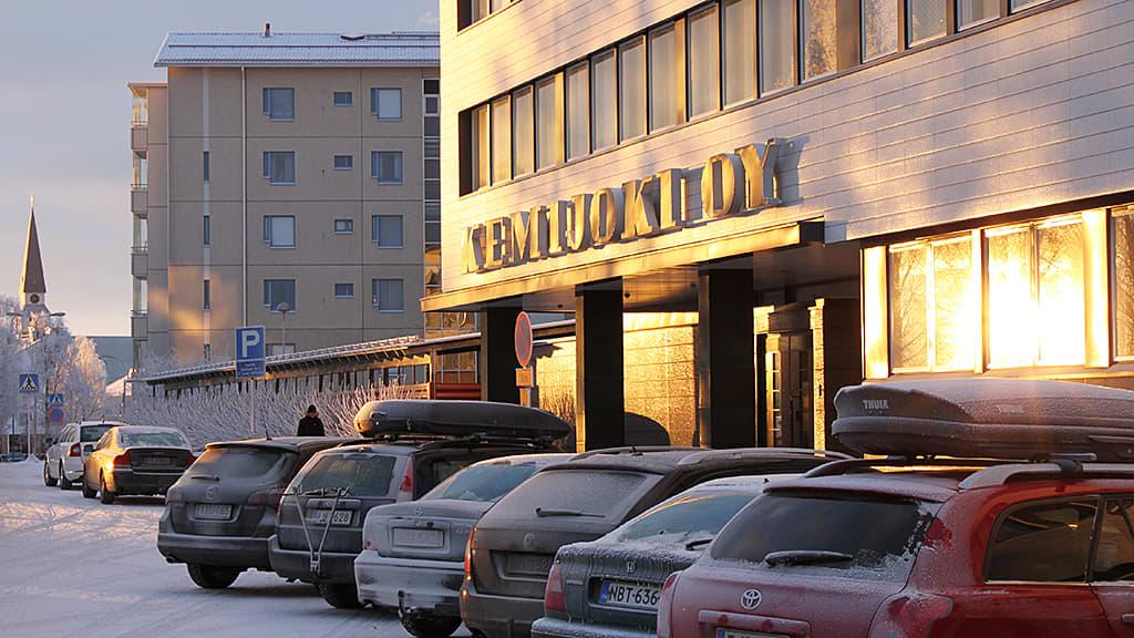 Kemijoki Oy:n toimitalo Rovaniemellä