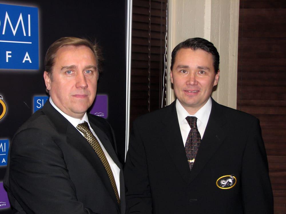 Juha Junno ja Harri Aho