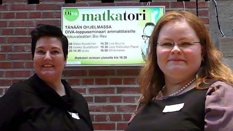 Mari Noromies ja Marjo Nieminen