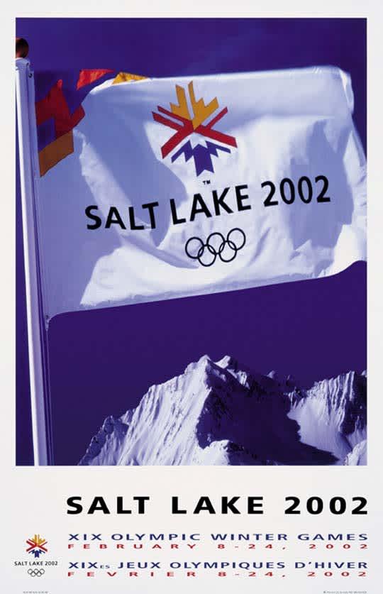Salt Lake Cityn kisojen juliste