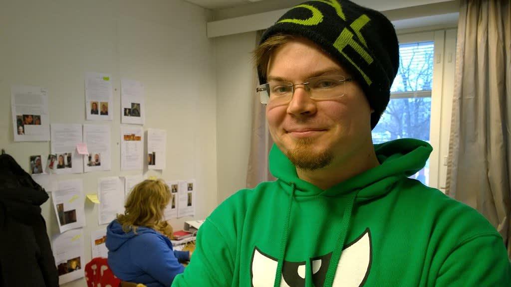 Toinen apulaisohjaaja Kasimir Högnäs.