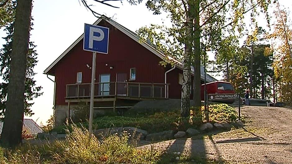 Viikin löytöeläintalo Helsingissä.