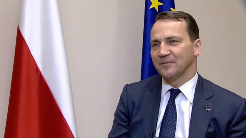 Puolan ulkoministeri Radoslav Sikorski
