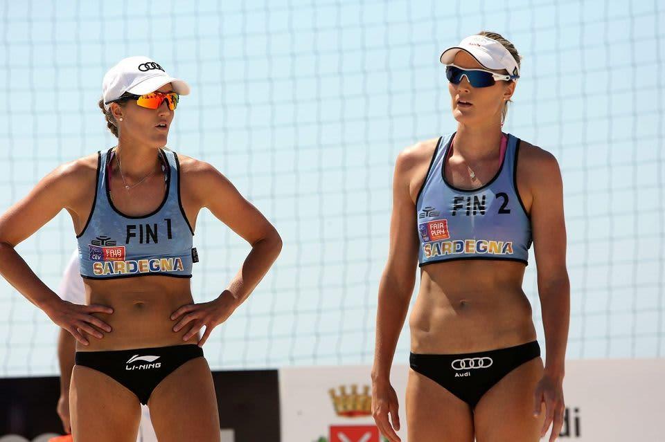 Erika ja Emilia Nyström kuvassa