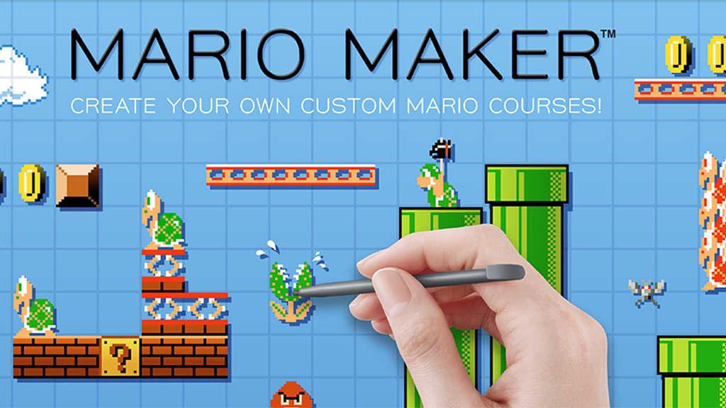 Mario Maker -peli.