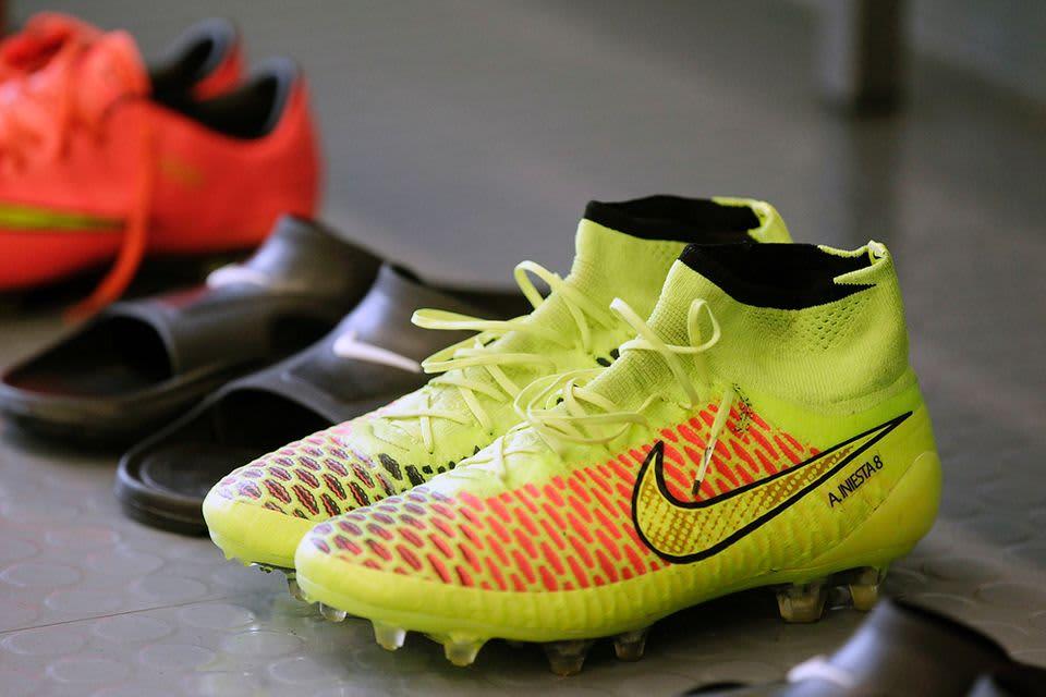 Andres Iniestan kengät.
