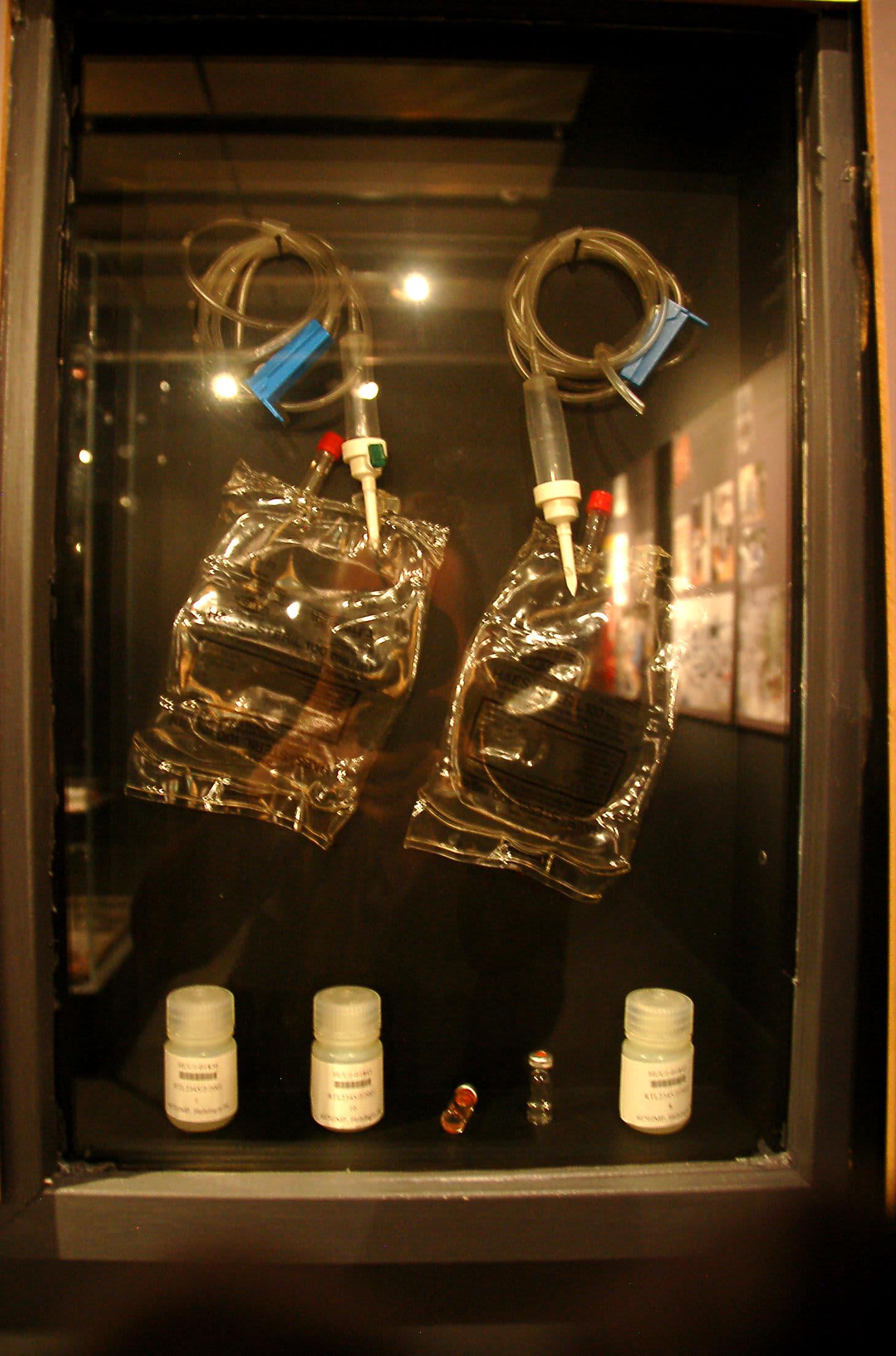 Ala-Tikkurilan Shelliltä löytyneet Lahden MM-hiihdoissa käytetyt hemohes-pussit päätyivät krp:n rikosmuseoon, vain noin kilometrin päähän löytöpaikastaan.