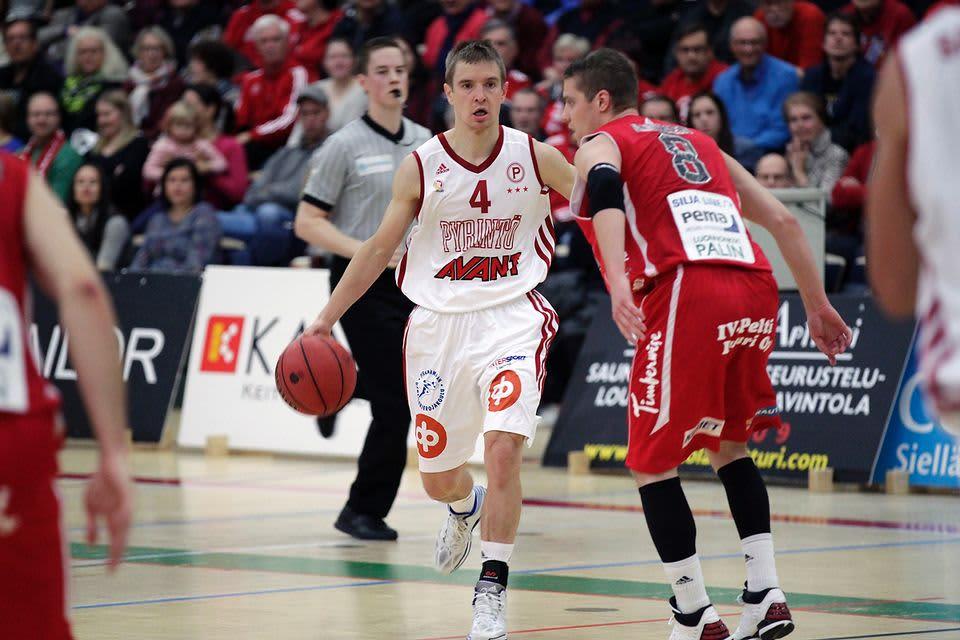 Pyrinnön Antero Lehto oli yksi ottelun hahmoista.