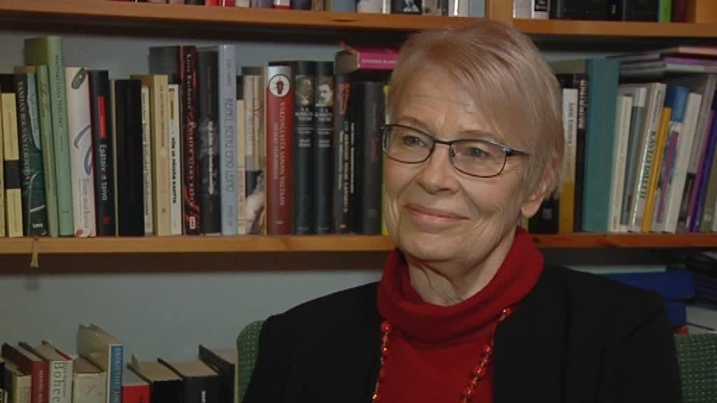 Kirjailija Tuula-Liina Varis