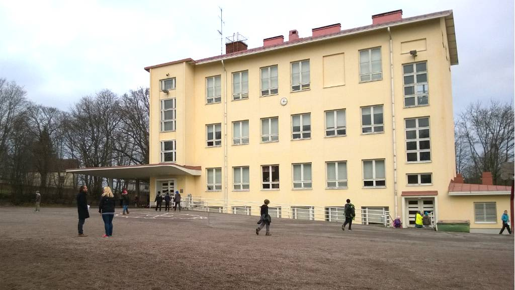 Tuomelan koulu otti viimeiset ekaluokkalaisensa syksyllä 2014.