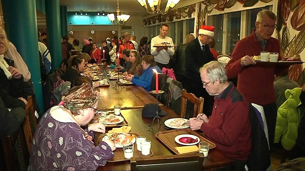 Jatunin Tarhan joulupäivällinen vähävaraisille