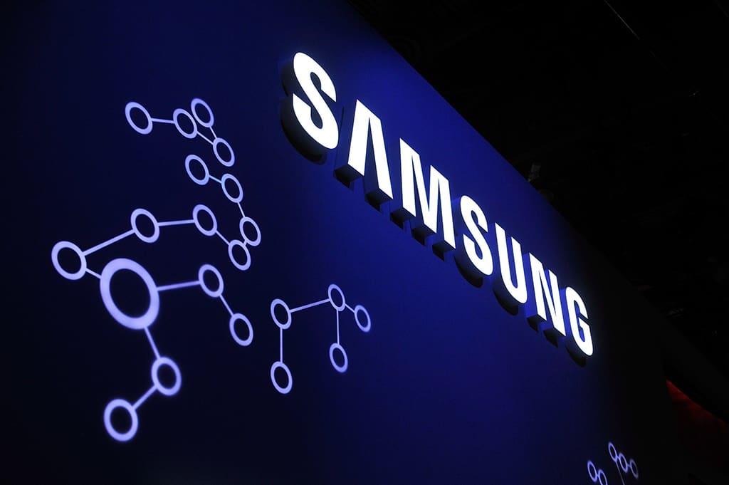 Samsungin osasto Las vegasin messuilla.