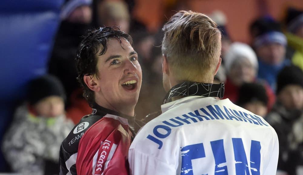 Scott Croxall ja Miikka Jouhkimainen.