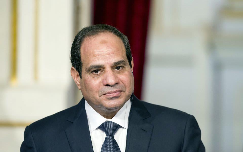 Abdel Fattah al-Sisi.