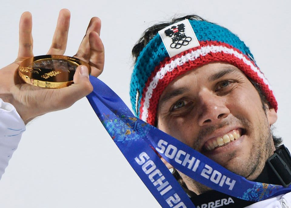 Mario Matt voitti olympiakultaa