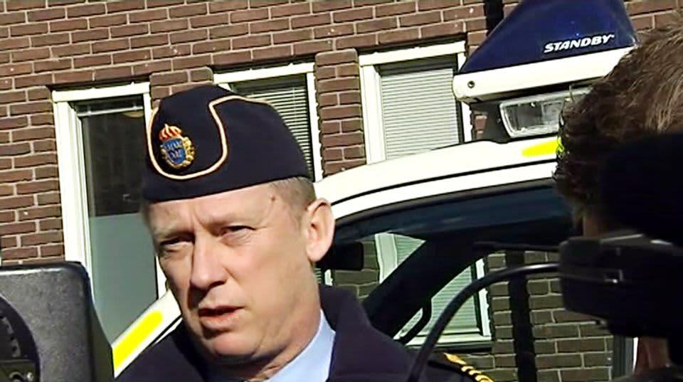 Poliisipäällikkö Klas Friberg