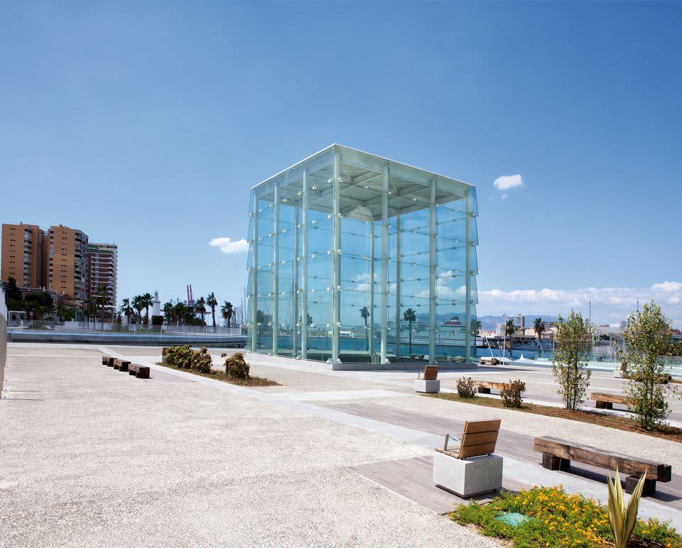 El Cubo, Centre Pompidou, Malaga.