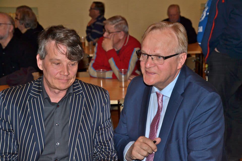 Ahti Ruoppila ja Lauri Ihalainen