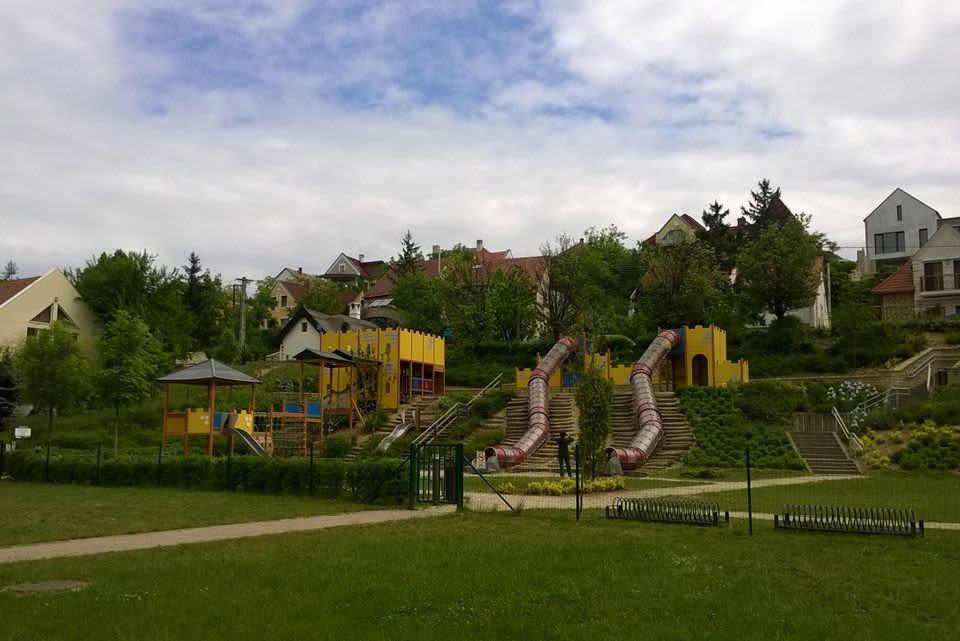Lappset leikkipuisto Unkari Veszprem