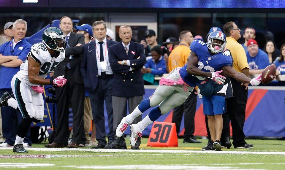 NFL New York Giants, David Wilson