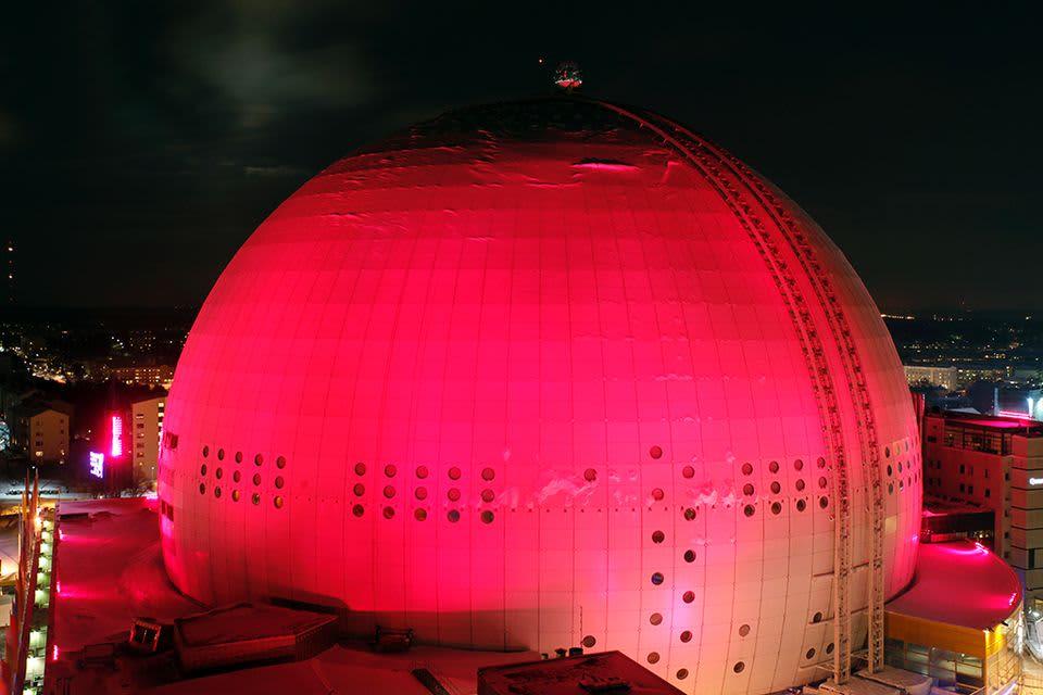 Tukholman Globen.