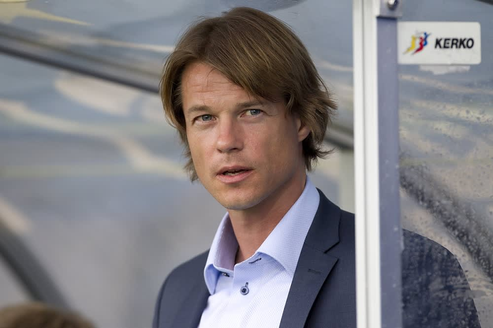 HJK:n päävalmentaja Mika Lehkosuo