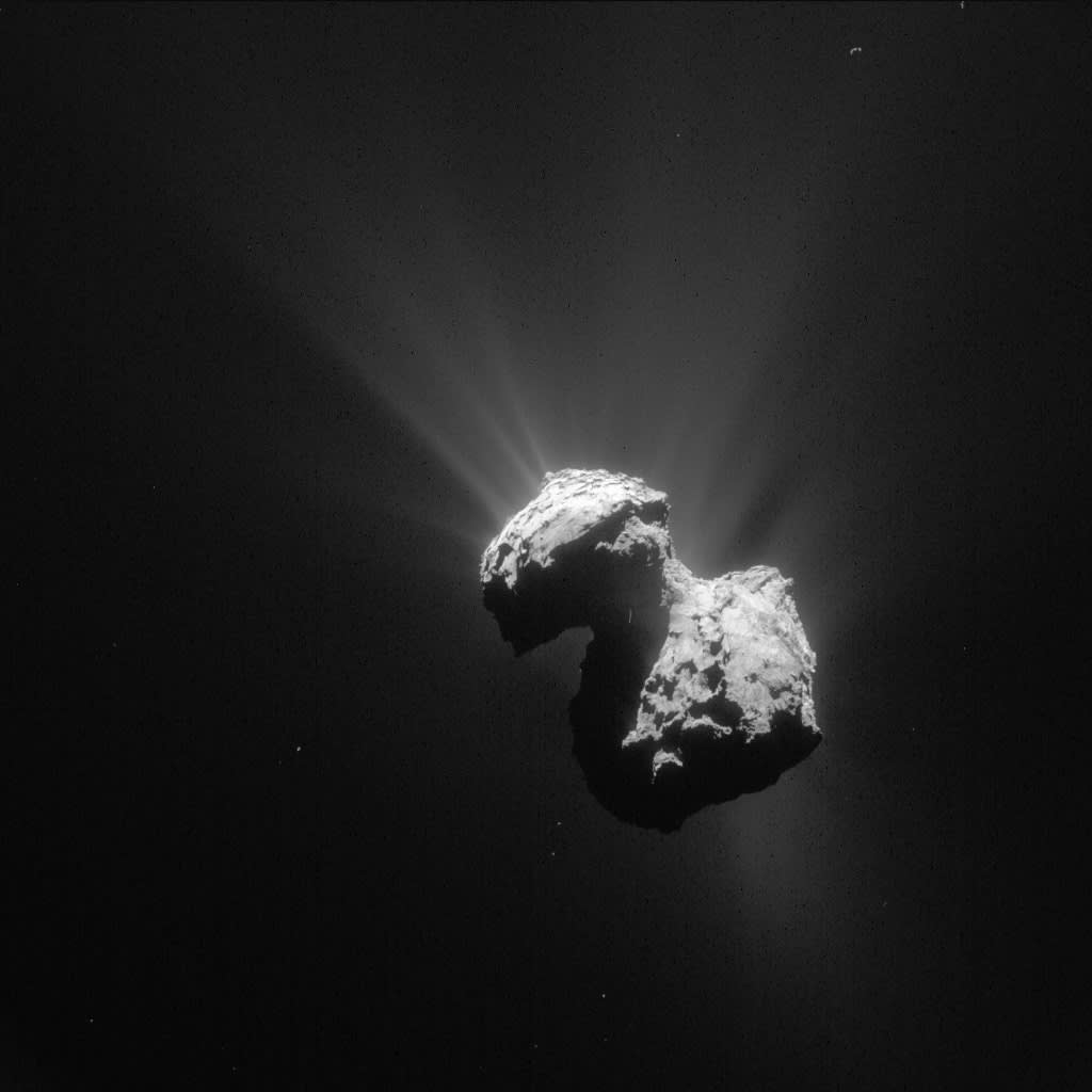 Churymov-Gerasimenko-komeetta