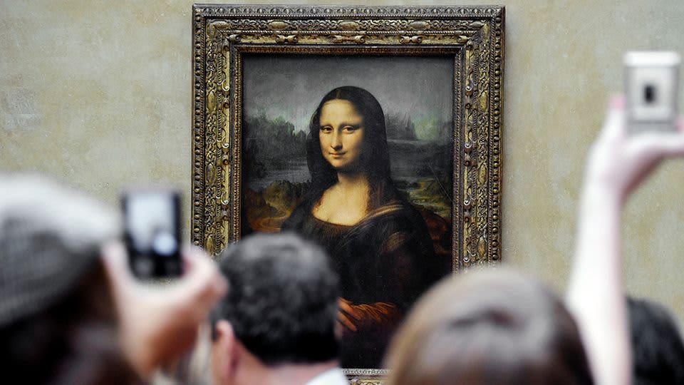 Leonardo da Vincin Mona Lisa.