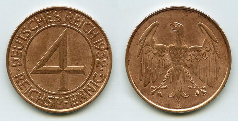 Neljän pennin kolikko