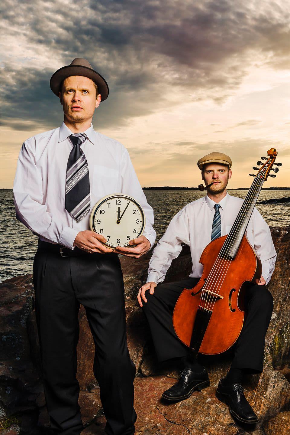 Jussi Lehtonen ja Mikko Perkola.