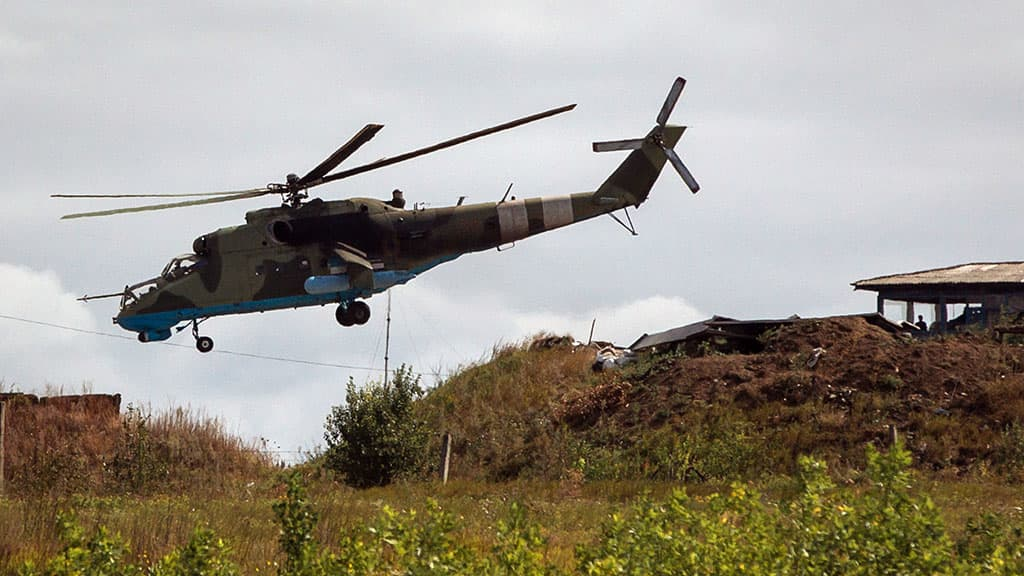 MI-24 helikopteri.